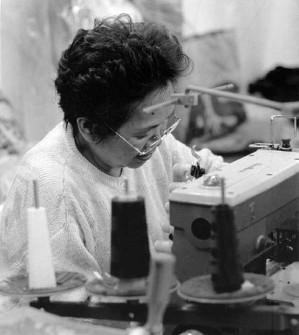 female factory worker